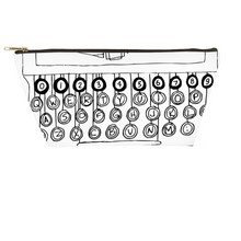 Load image into Gallery viewer, Typewriter Accessory Pouches - Artski&Hush