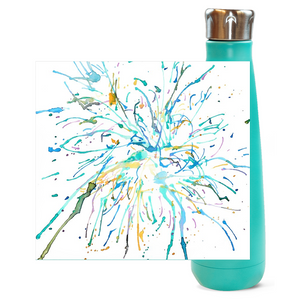 Watercolor Firework Water Bottles - Artski&Hush