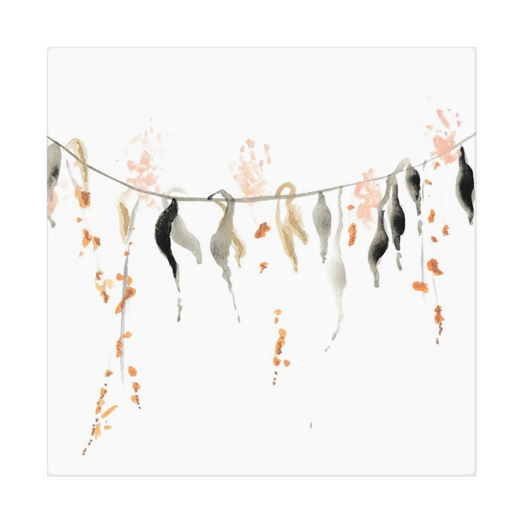 Watercolor Vine Cloth Napkins