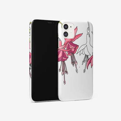 Fuchsias Iphone 11 case - Artski&Hush