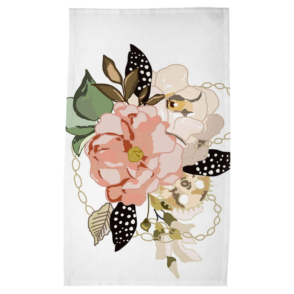 Metal Bouquet Tea Towels