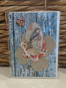 Blue Bird Designer Notecard