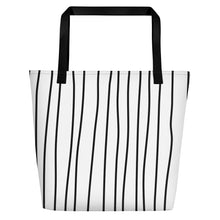 Load image into Gallery viewer, Loose Shiplap Beach Tote