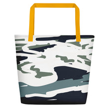 Load image into Gallery viewer, Here Fishy Beach Toting Bag