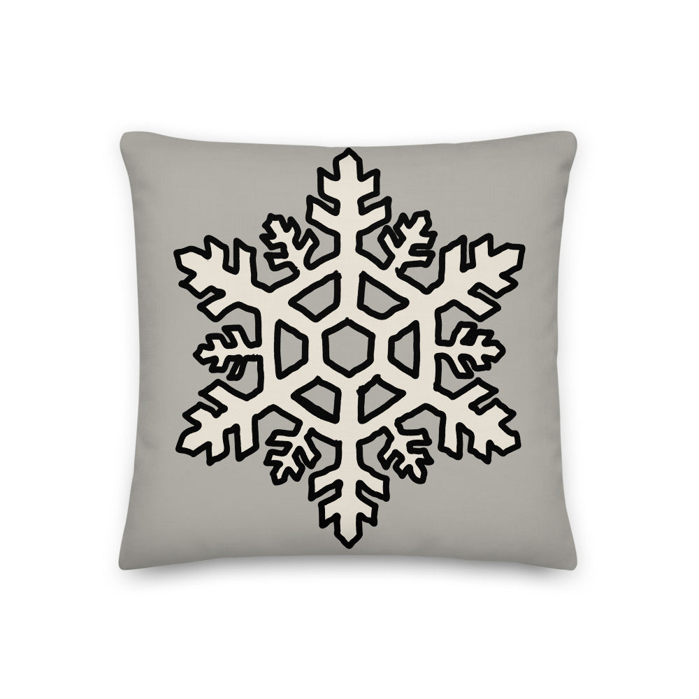 Snowflake Decorative Throw Pillow