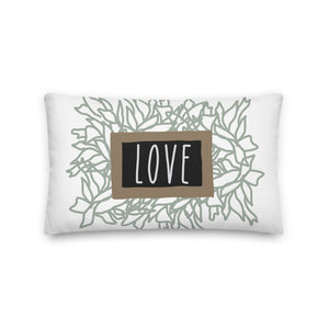Spring Love Decorative Throw Pillow