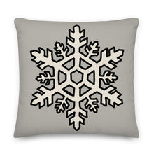 Load image into Gallery viewer, Snowflake Decorative Throw Pillow