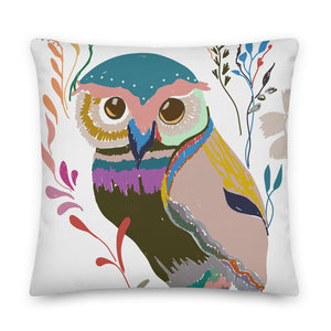 The Winter Owl Decorative Throw Pillow