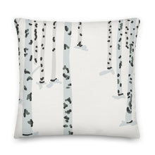 Load image into Gallery viewer, Birch Forest Decorative Throw Pillow