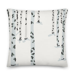 Birch Forest Decorative Throw Pillow