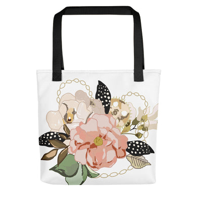 Metal Bouquet Tote bag