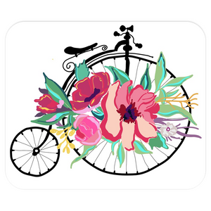 Flora Bicycle Mousepad - Artski&Hush