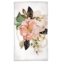 Load image into Gallery viewer, Metal Bouquet Hand Towels