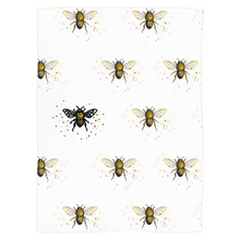 Load image into Gallery viewer, Bee the One Fleece Blankets - Artski&Hush