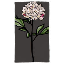 Load image into Gallery viewer, Grey Peony Hand Towels - Artski&Hush
