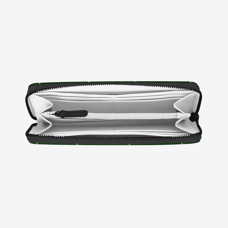 Hunter Striped Leather Wallet - Artski&Hush