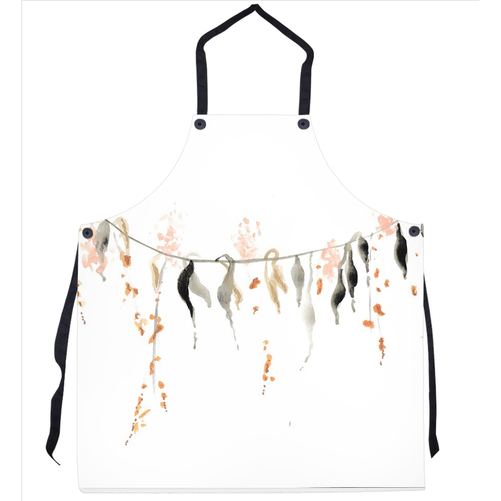 Watercolor Vine Aprons