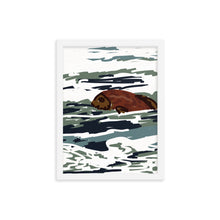Load image into Gallery viewer, Here Fishy Framed Art