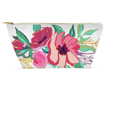 Load image into Gallery viewer, Flora Accessory Pouches - Artski&Hush