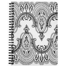 Load image into Gallery viewer, Arched Lace Spiral Notebook - Artski&Hush