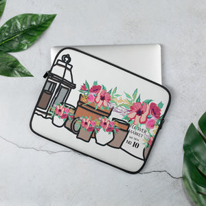 Flower Market Laptop Sleeve