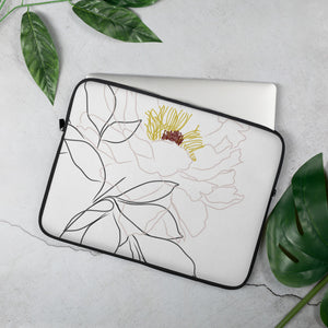 Illustrated Botanical Laptop Sleeve