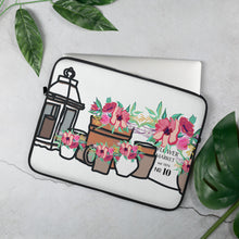 Load image into Gallery viewer, Flower Market Laptop Sleeve