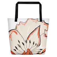 Large Flora Beach Tote