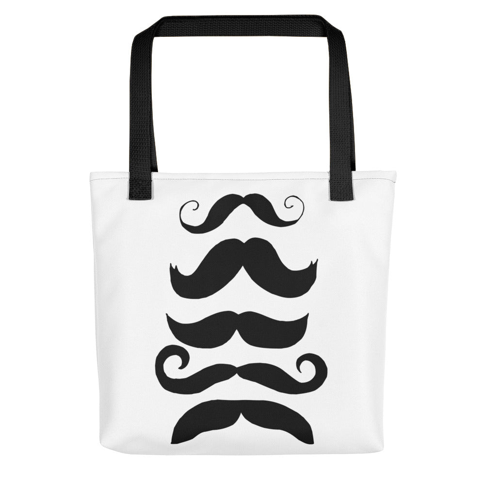 Mustache Collection Toting bag - Artski&Hush