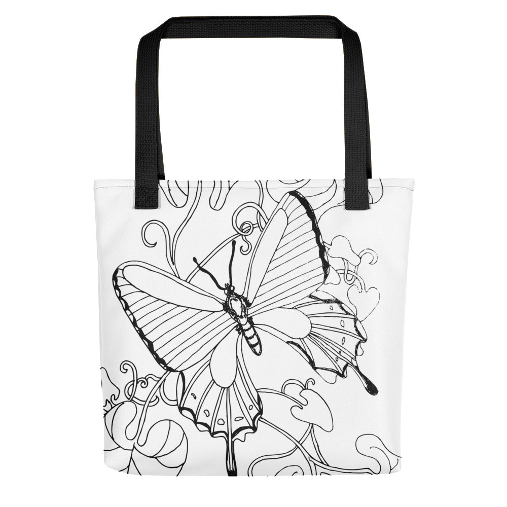 Butterfly Toting bag