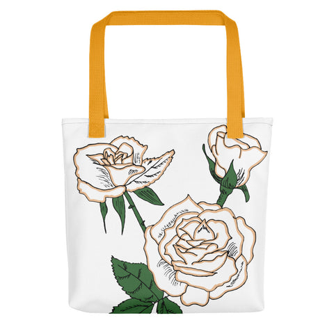 First Edition Rose Tote bag