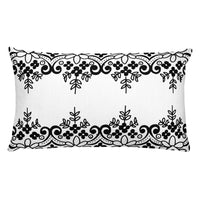 Dual Lace Throw Pillows