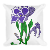Iris Throw Pillows