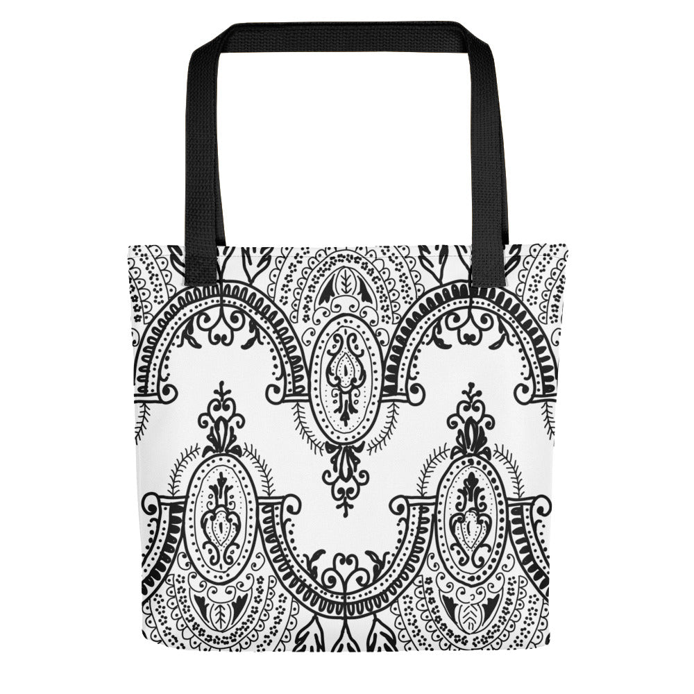 Arched Lace Toting bag