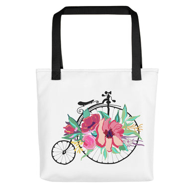 Flora Bicycle Toting Bag - Artski&Hush