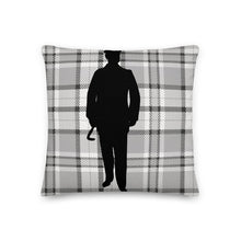 Load image into Gallery viewer, Plaid Gentleman Decorative Pillow - Artski&Hush