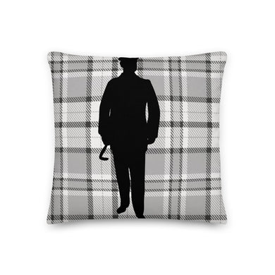 Plaid Gentleman Decorative Pillow - Artski&Hush