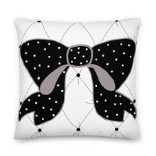 Load image into Gallery viewer, Tufted Bow Decorative Pillow - Artski&Hush