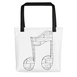 Wooden Music Toting Bag