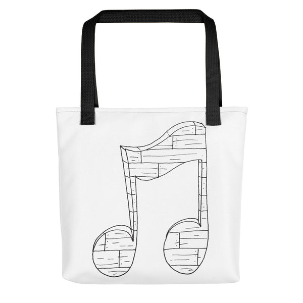 Wooden Music Tote bag