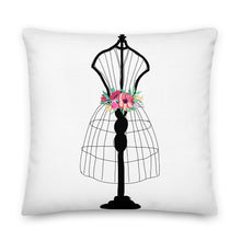 Load image into Gallery viewer, Flora Mannequin Decorative Throw Pillow - Artski&Hush