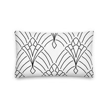 Load image into Gallery viewer, Art Deco Our Story Decorative Pillow - Artski&Hush