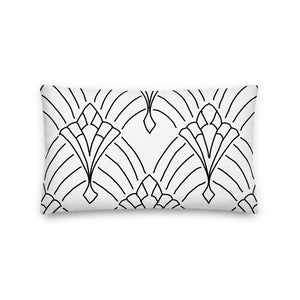 Art Deco Our Story Decorative Pillow - Artski&Hush