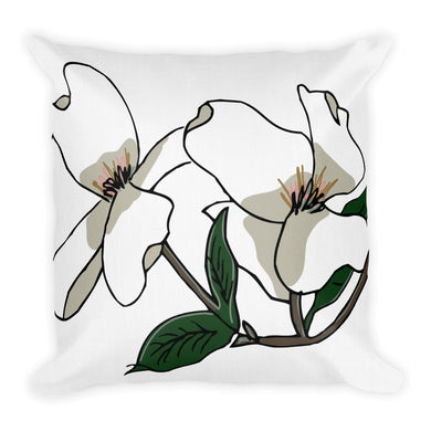 Almond Blooms Decorative Throw Pillows - Artski&Hush