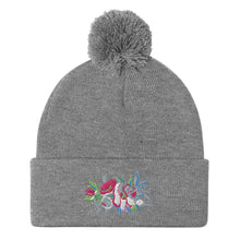Load image into Gallery viewer, Flora Pom-Pom Beanie