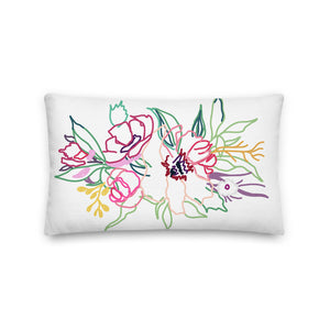 Spring Colorful Gathering Decorative Throw Pillows - Artski&Hush