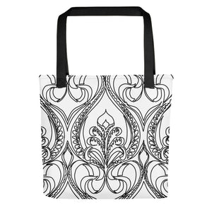 Art Deco Lily Toting bag - Artski&Hush