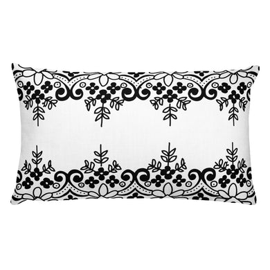 Dual Lace Decorative Throw Pillows - Artski&Hush
