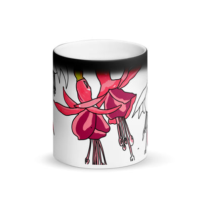 Fuschia Magic Mug - Artski&Hush