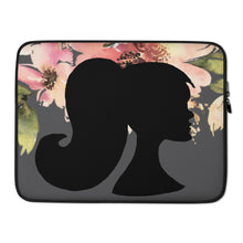 Load image into Gallery viewer, A&H Floral Silhouette Laptop Sleeve - Artski&Hush